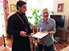 Представители Екатеринбургской епархии поздравили ветеранов с Днем защитника Отечества