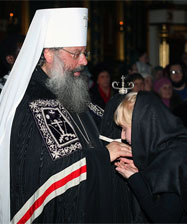 В Прощеное воскресенье митрополит Кирилл совершит вечерню с чином прощения в Свято-Троицком кафедральном соборе