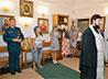 Иерей Сергий Романенко поздравил сотрудников МЧС с праздником Преображения Господня