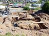 Молодежная артель по восстановлению храмов потрудилась в п. Уралец