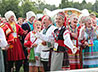 На фестивале «Яблочный Спас» в Нижней Синячихе выступил монастырский хор