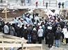 В Нейво-Рудянке совершен чин освящения основания храма Успения Пресвятой Богородицы