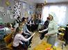 Воспитанники социального центра «Черепашка» освоили паралимпийскую игру бочче
