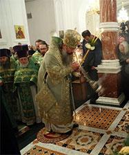 Митрополит Кирилл возглавит праздничные богослужения в дни святого Симеона в Верхотурье