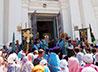 Почитаемую святыню Нижнетагильской епархии жители Лесного проводили крестным ходом