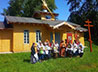 Храм в п. Басьяновском встретил свой первый престольный праздник