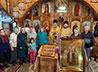 Престольный праздник встретили в поселке Гари