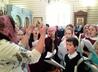 Общегородской молебен на начало учебного года совершили в Державном храме Царской обители