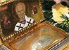 В Преображенский мужской монастырь передана частичка мощей святителя Николая Чудотворца