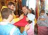 Престольный праздник встретил храм святителя Николая в с. Кленовское