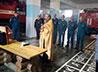 Окормляющие священники отслужили молебны и провели беседы с сотрудниками МЧС