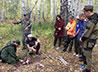 Кадеты ИККК совершили первый в новом учебном году полевой выход