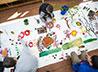 Художник из г. Долгопрудного научил екатеринбуржцев рисовать райские цветы