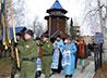 Военнослужащие Росгвардии приняли участие в крестном ходе в честь святого-врача
