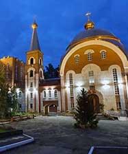 В Екатеринбурге введен в эксплуатацию церковный комплекс общей площадью 8000 м2
