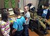 Воспитанники центра «Улыбка» вместе с волонтерами посетили музей авиации и космонавтики