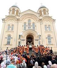 В День памяти святого Симеона епископ Феодосий совершил праздничную Божественную литургию в Свято-Николаевском монастыре в Верхотурье
