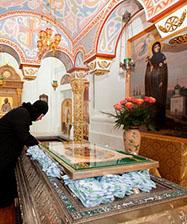 Частица мощей преподобной Евфросинии Московской прибывает 28 июня в столицу Урала