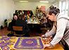 Мастерицы «Царской семьи» вышили новый орнамент для богослужебных и храмовых облачений