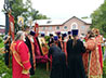Ежегодный крестный ход в память погибшего священника совершили в п. Троицком