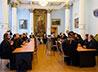 Сборы штатного военного духовенства открылись молебном в Храме-на-Крови