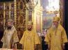 Воскресное богослужение в Новоспасском мужском монастыре возглавил алапаевский епископ