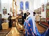 Владыка Кирилл освятил купола и кресты Вознесенского собора г. Михайловска