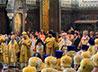 Епископ Евгений сослужил за Литургией Предстоятелям Иерусалимской и Русской Православных Церквей