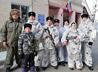 В практическом занятии по огневой подготовке кадет поддержали родители