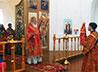 В храме села Щербаково отпраздновали первую годовщину со дня возобновления богослужений
