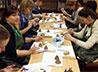Участники семинара-практикума изготовили к Рождеству колокольчики