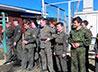Исетские кадеты и курсанты ВПК «Уральские медведи» поучаствовали в акции «Сила Гвардии»