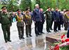Литией на аллее памяти помянули погибших в Великой Отечественной войне