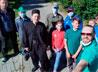Отряд скаутов храма на Краснолесье совершил паломничество по Симеоновым местам