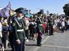 Празднование Дня Государственного флага России в Екатеринбурге завершили зрелищным флэшмобом