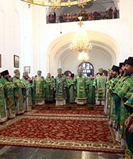 Праздничное богослужение в день праведного Симеона совершено в Свято-Николаевской обители Верхотурья