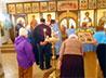 В пос. Рефтинском вместе с прихожанами обет трезвости приняли два священника