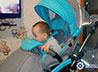Соотечественники подарили малышу с ДЦП специальную коляску