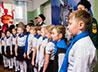 Новая партия юных кадетов вступила на Вахту памяти