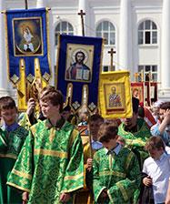 1 июня школьники и студенты Екатеринбурга пройдут традиционным Крестным ходом