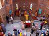 Первая Литургия прозвучала в новом храме села Глинское