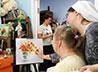 Мастер-класс по живописи провели для подопечных обители милосердия
