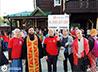 25 мобильных групп волонтеров помогли паломникам пройти многокилометровый Царский крестный ход