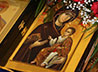 Первая Божественная литургия совершена в восстановленном храме в честь иконы Божией Матери «Державная» на Ганиной Яме.