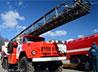 Священник поздравил личный состав с 30-летием 73 Пожарной части