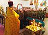 Каменский священник напутствовал солдат в преддверии принятия присяги