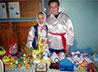Покровский храм Каменска-Уральского встретил Вербное воскресенье благотворительной ярмаркой