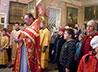 Детскую Литургию совершили в красноуфимском храме Иннокентия Вологодского
