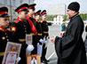 Духовник поздравил курсантов с окончанием Екатеринбургского суворовского военного училища