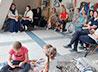 Православная арт-студия устроила для детей «урок милосердия»